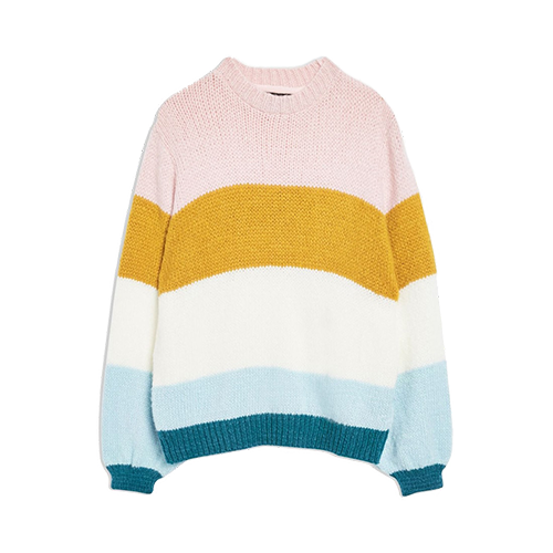 TOPSHOP COLORBLOCK KNIT PULLOVER | NORDSTROM