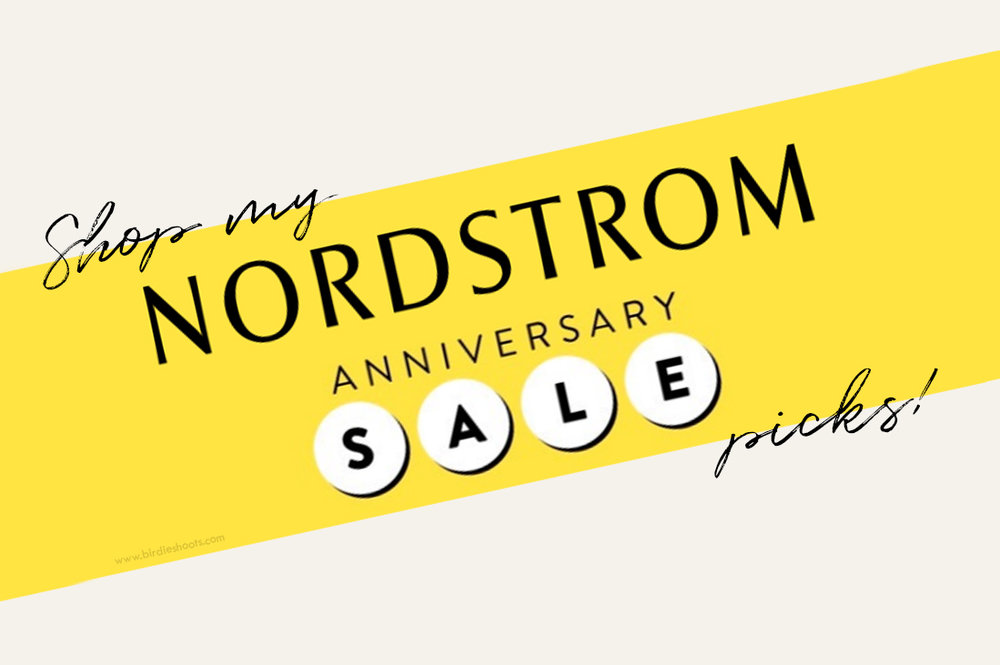 Best Buys From Nordstrom Anniversary Sale 2018 via. Birdie Shoots