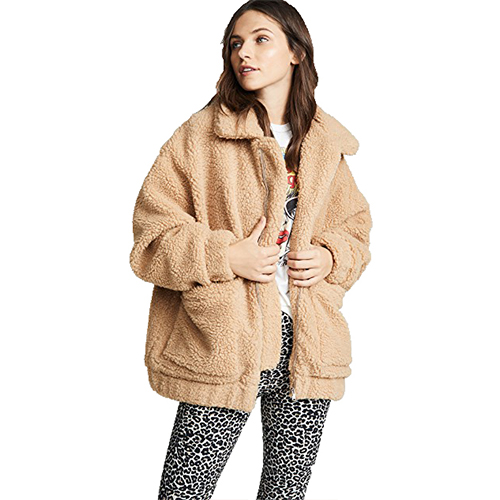 I Am GIA Teddy Bear Coat