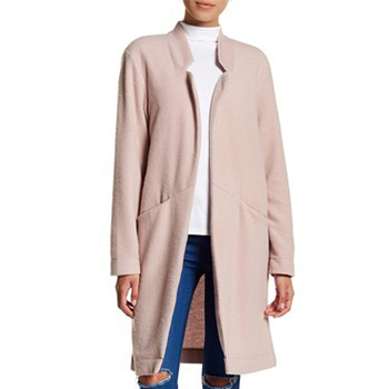 14th & Union - Cocoon Open Front Coat (Regular & Petite). Free Shipping on orders over $100.