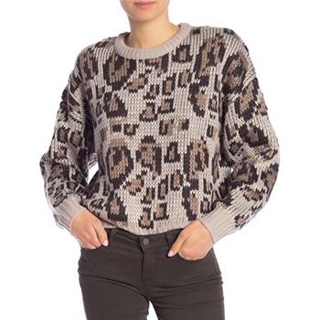 John & Jenn - Long Sleeve Patterned Sweater is now 73% off.