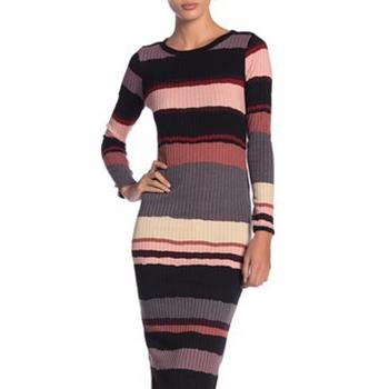 Abound - Long Sleeve Stripe Dress.