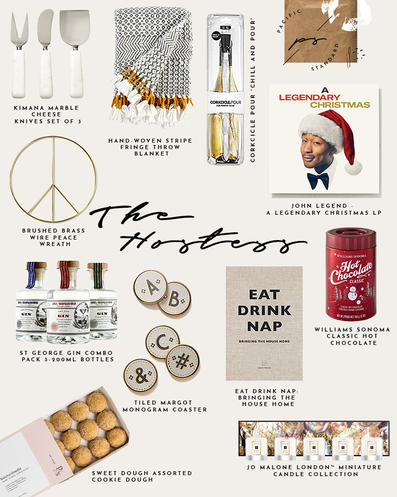 Guide to Holiday Gifting - The Hostess via. The Pacific Standard   www.ThePacificStandard.com