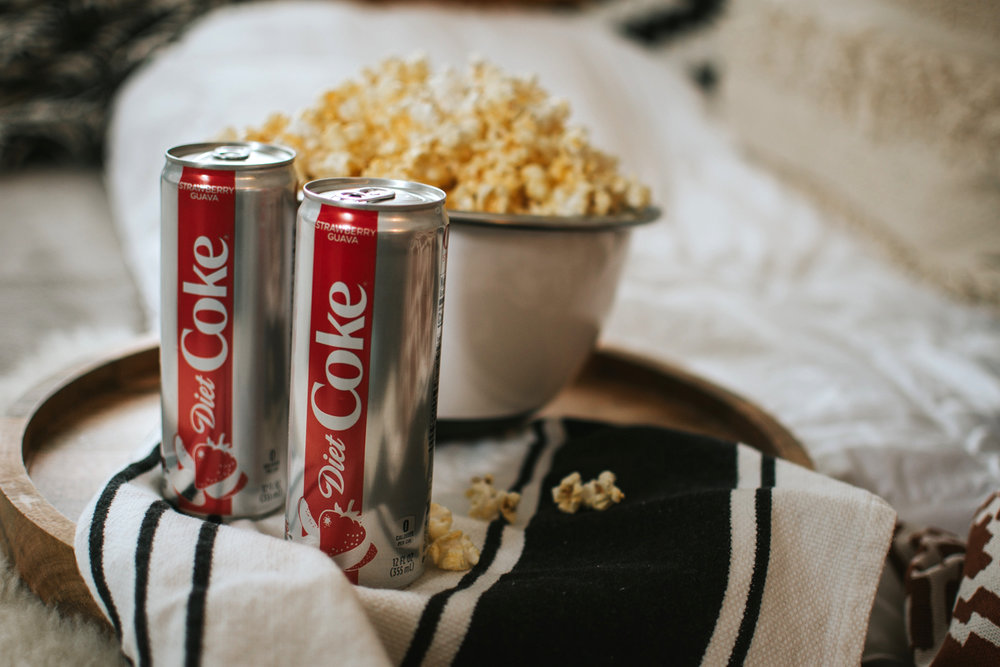 5 Ideas for the Perfect Date Night In with Diet Coke via. The Pacific Standard | www.thepacificstandard.com