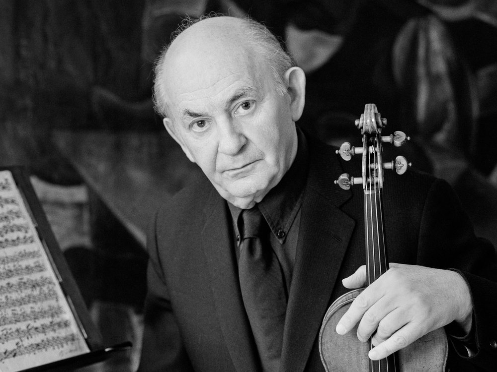 Szymon Goldberg (1909-1993), master musician, violinist and teacher.  Photo: Evelyn Hofer, 1987. Licensed from Getty Images.