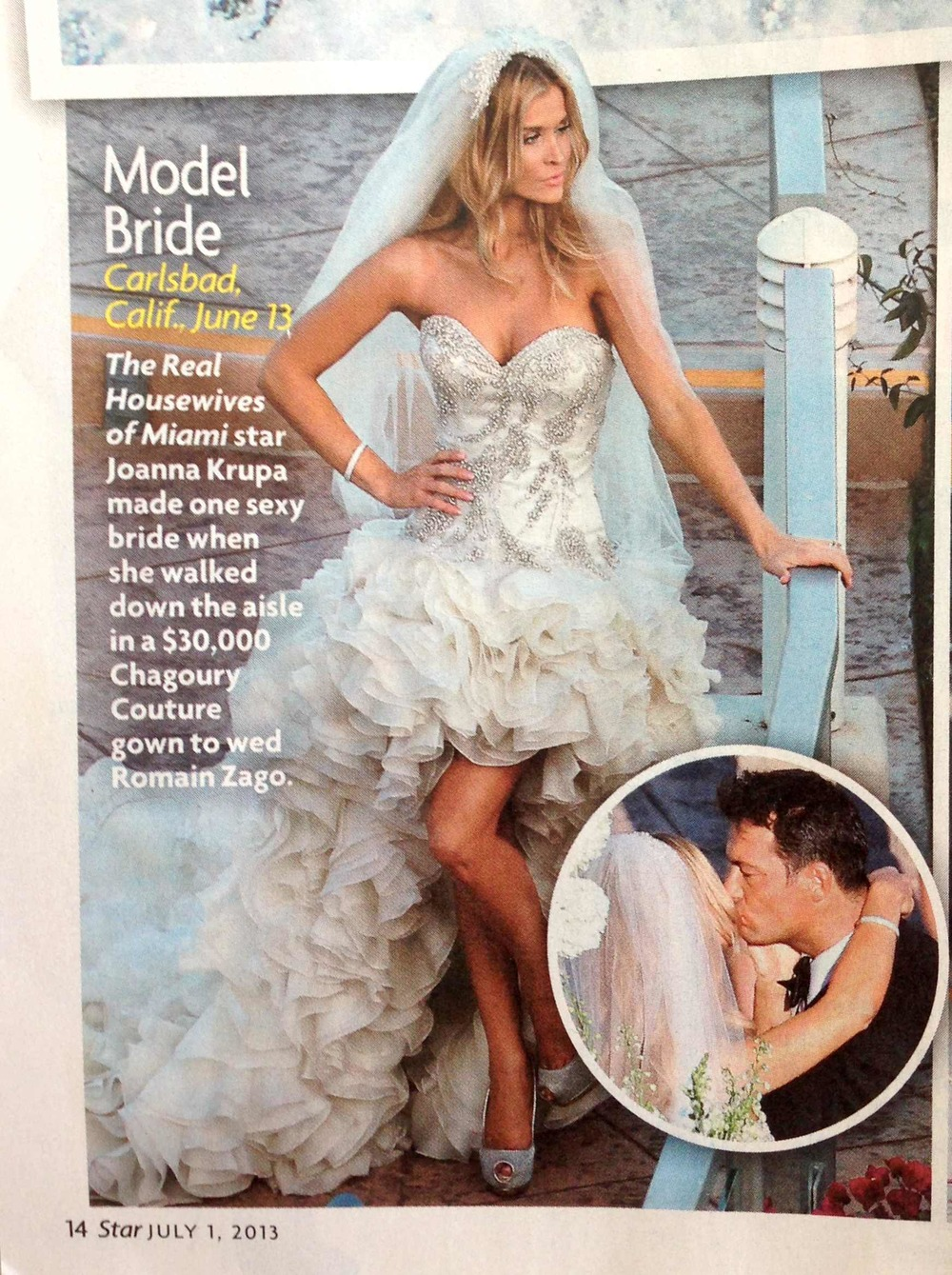 Joanna Krupa & Romain Zago