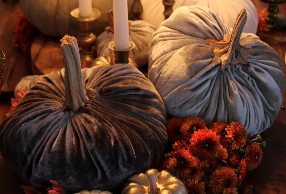 SYBARITE DESIGNS Velvet Pumpkin DIY