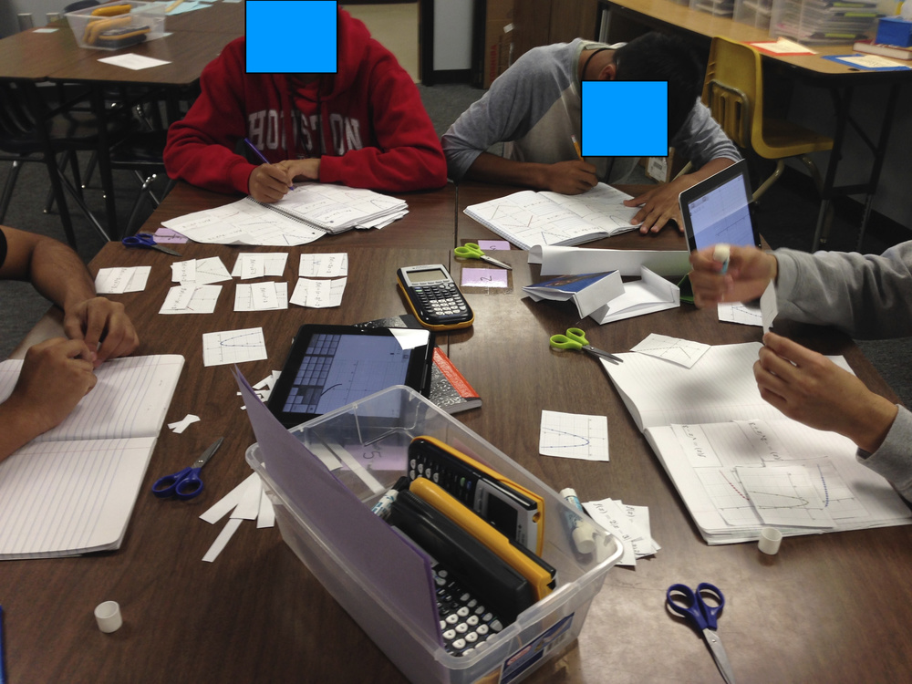Day 34 - Transformation matching in Algebra II.
