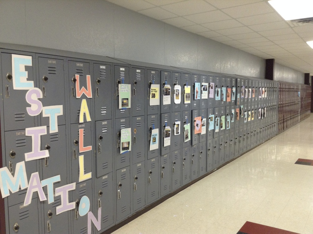 Day 75 - The completed Estimation Wall