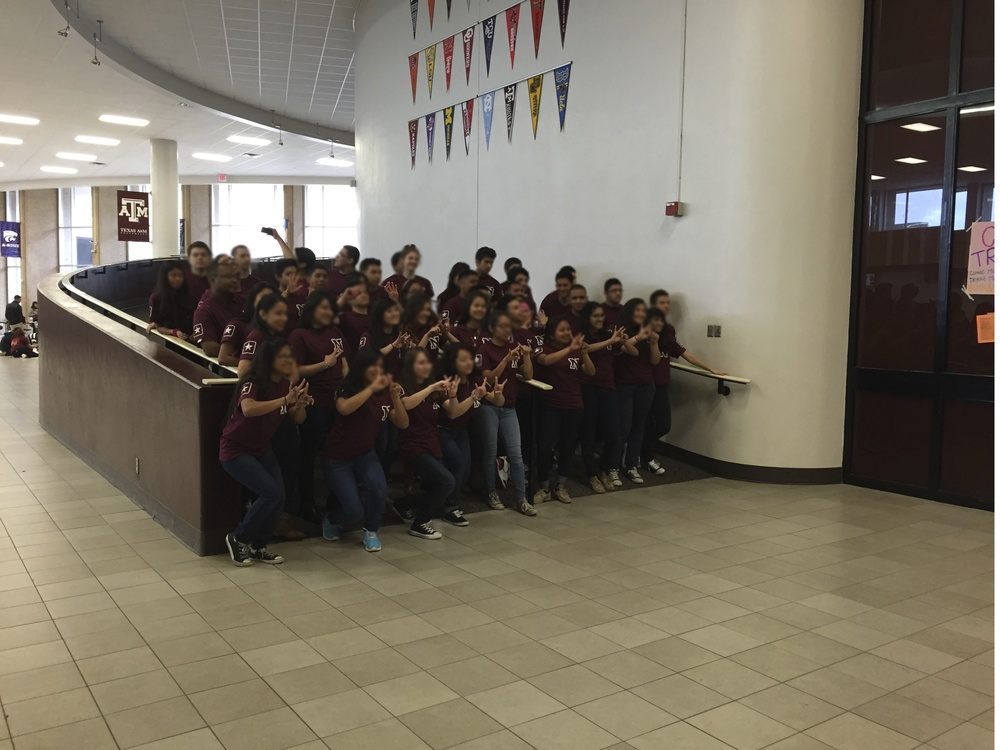 Day 121 - Varsity Math Team Photo