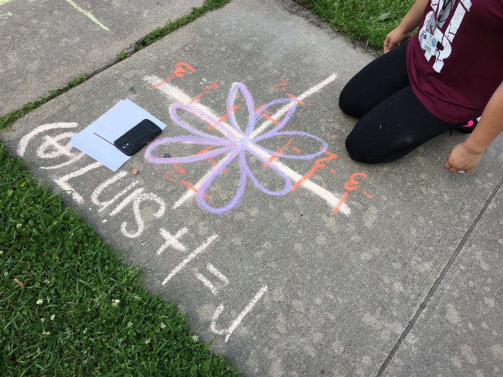 Day 129 - Sidewalk Chalk Day!
