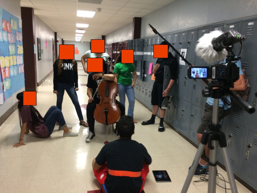 Day 153 - Because, cello in the hallway