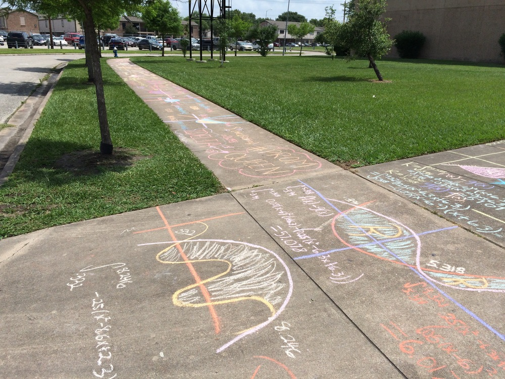Day 167 - Integral sidewalk chalk