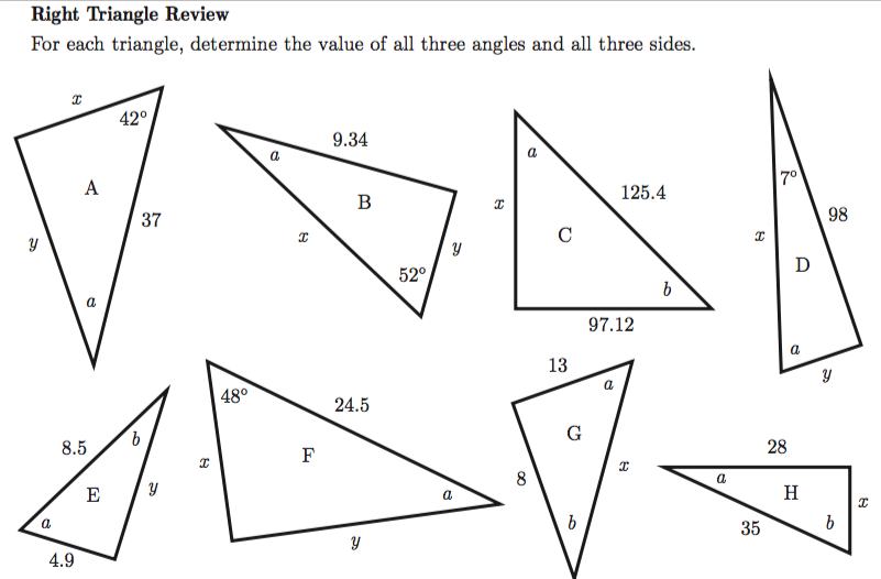 How Do You...Triangles — Infinite Sums