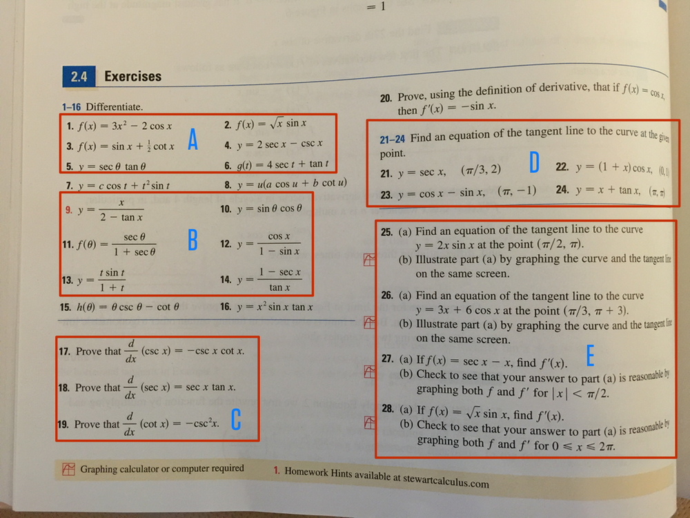 Stewart, Single Variable Calculus, 7th Edition