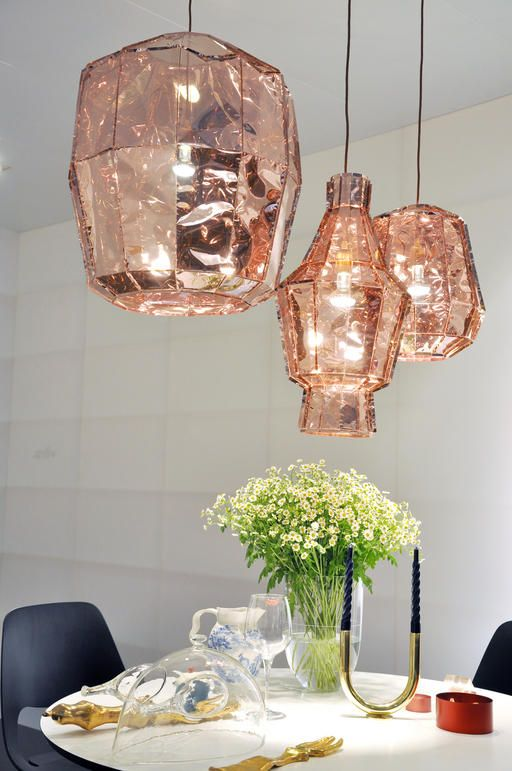 These paper lantern-esque pendants are my favorite of the whole bunch.