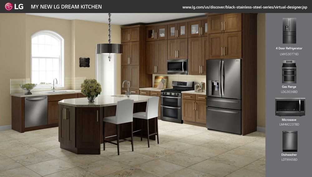 lg traditional kitchen