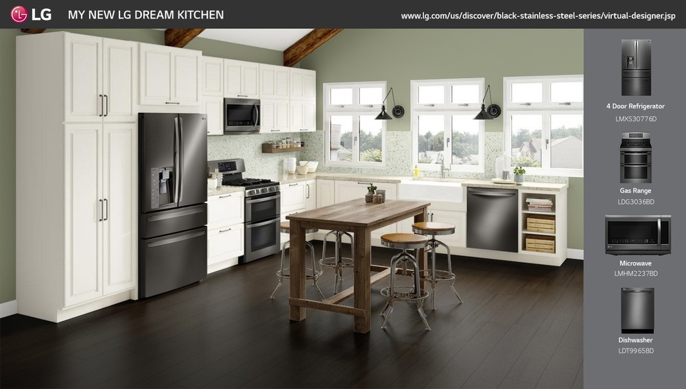 lg transitional kitchen