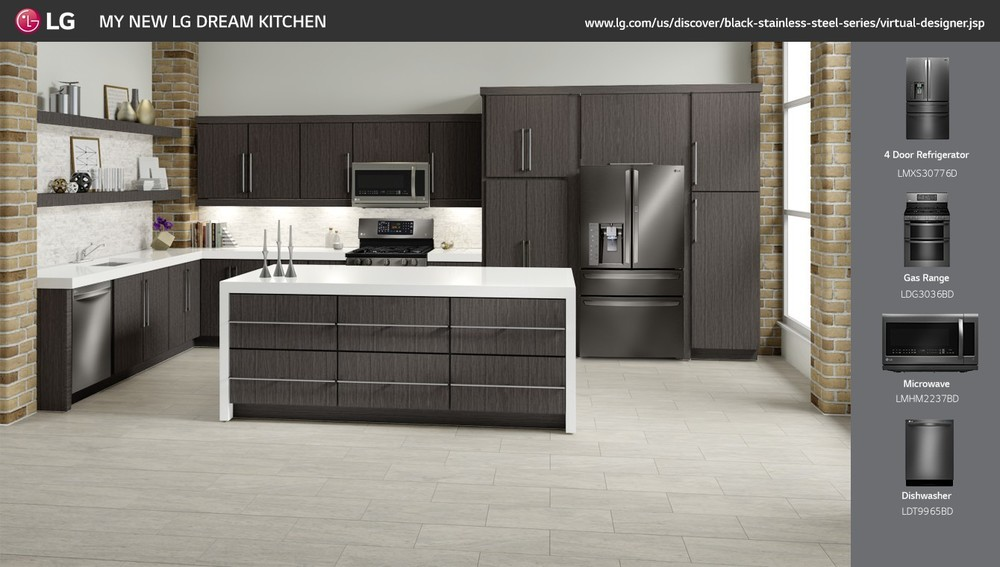 lg modern kitchen