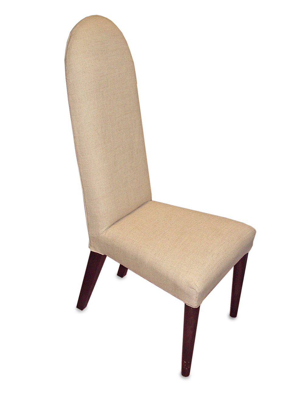 Cheshire Dining Chair with round tapering front legs