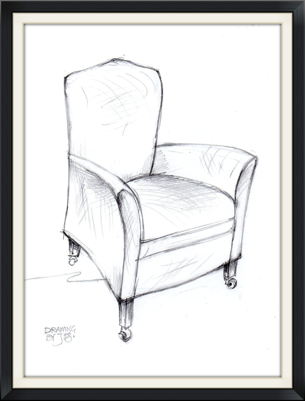 Parlour Wing Chair