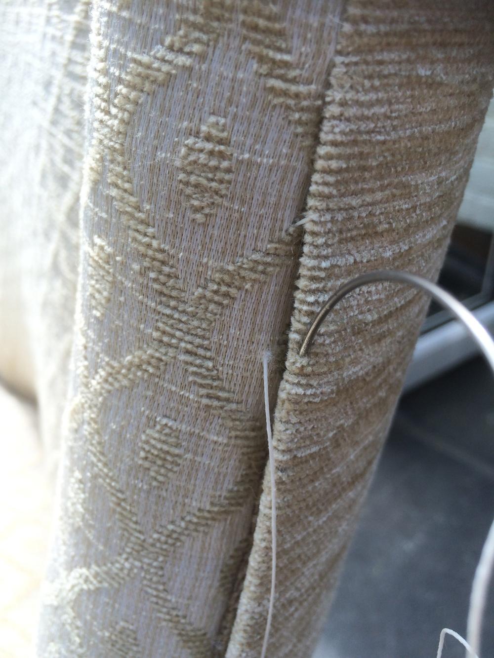 Slip-stitching