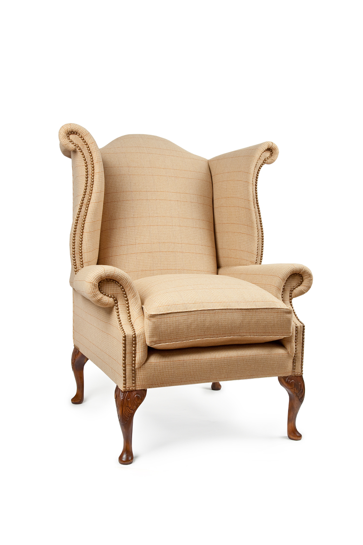 dunmore chair tweed harris