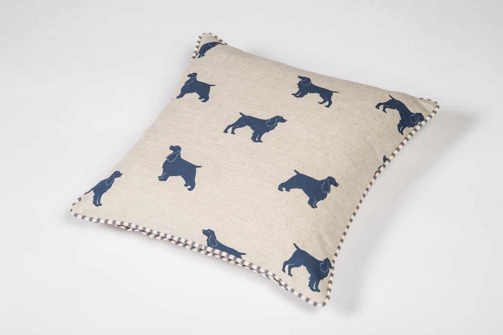 Emily Bond new Spaniel Cushion