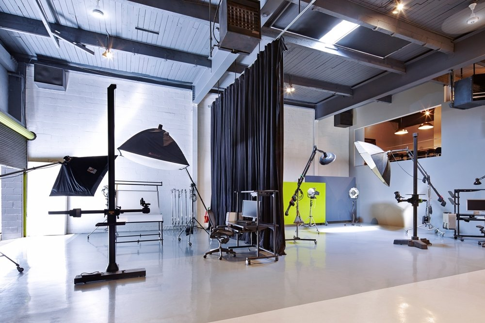 STUDIO POSSIBILITIES... - Find the right studio for your next project, whether it's daylight or our a 26'X25' cyc wall.