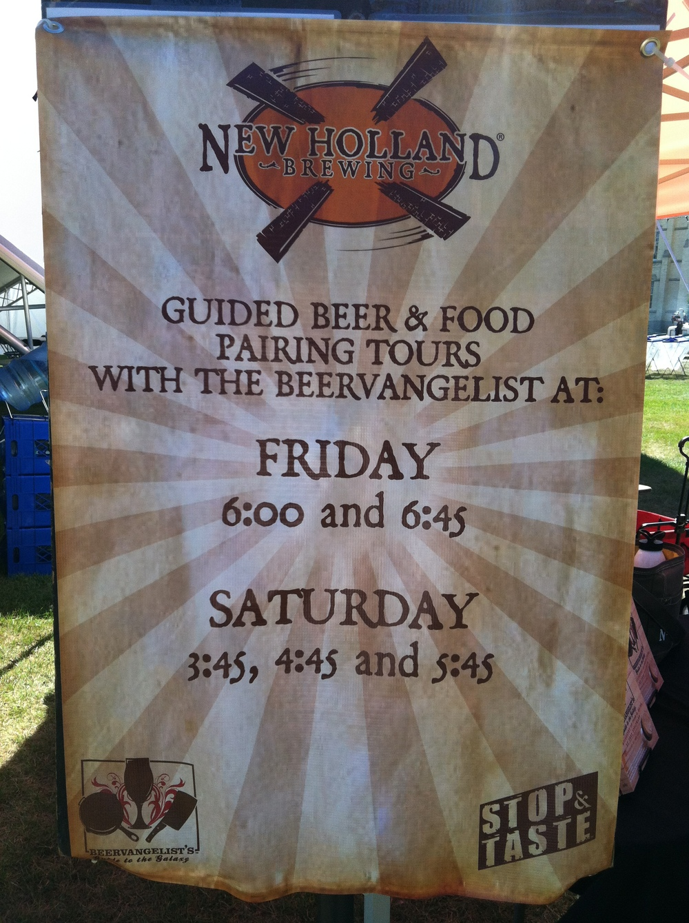Food Truck Tours - Sign up at the Booth (Saturday times subject to change)