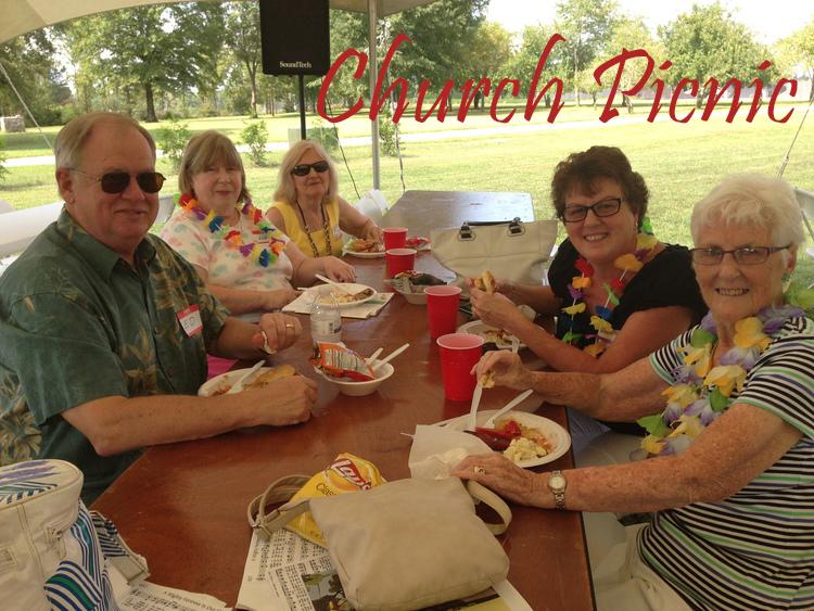 Faith Lutheran Church picnic. 9/18/2013
