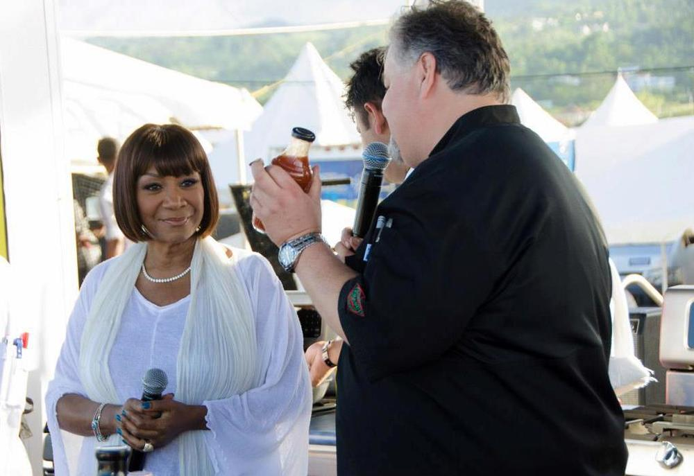 Chef Ted Reader and Patti LaBelle Get Ready to showcase a menu using Lady Marmalade sauces
