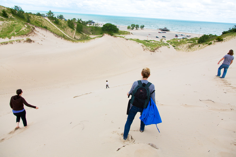 Warren Dunes hike