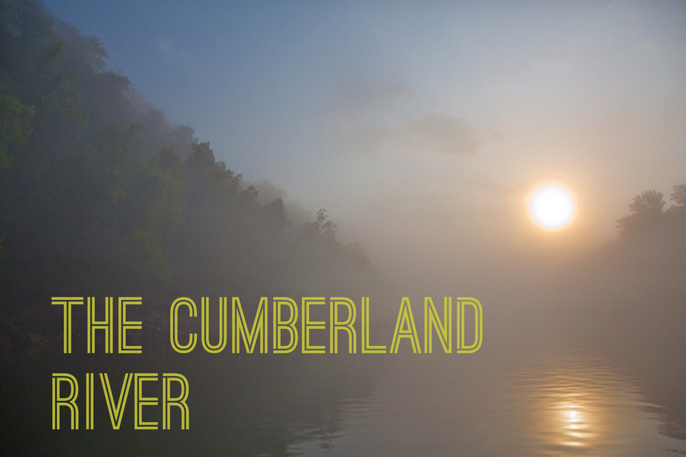cumberland river with text