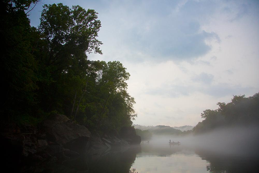 fog fishermen cumberland river