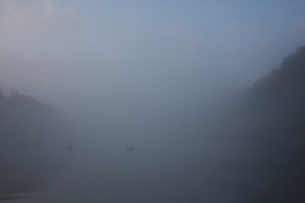 Cumberland River Fog