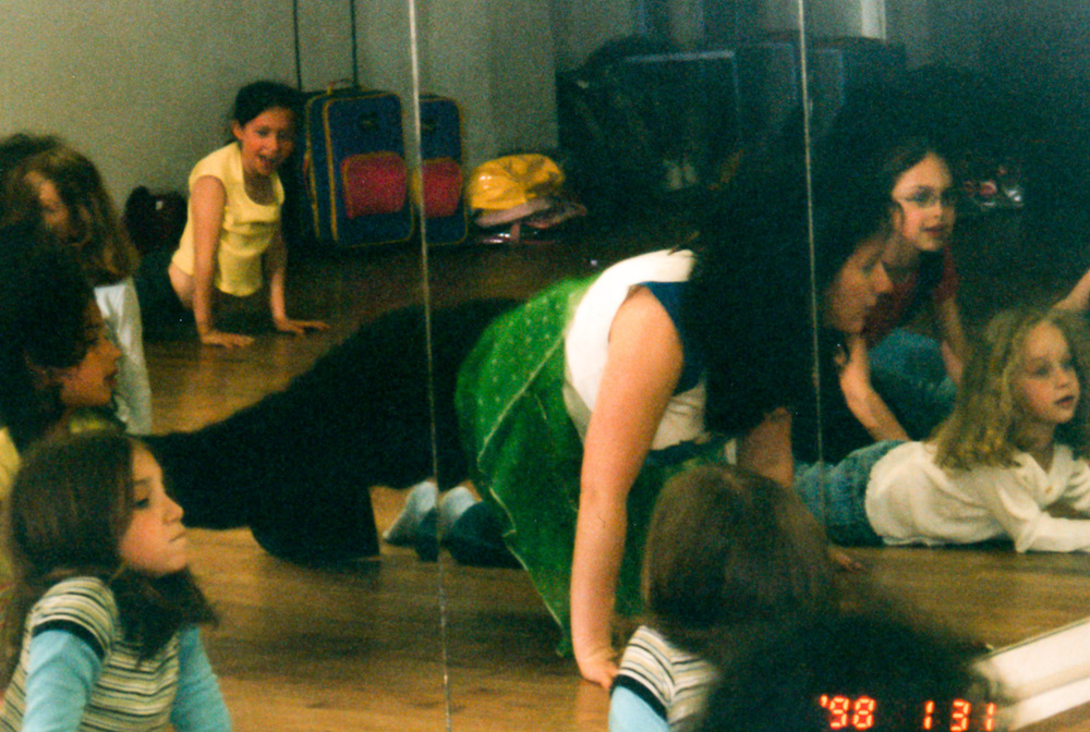 One of the first UpBring dance classes I taught in NYC