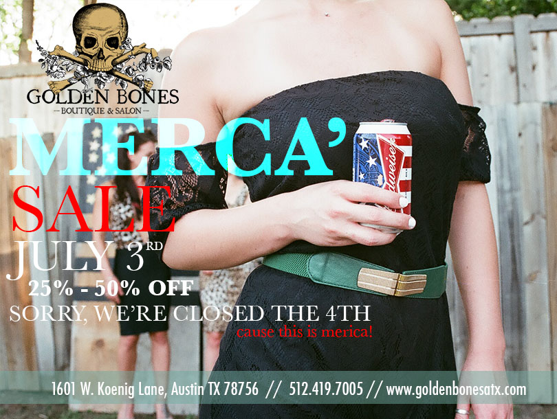 The Velvet Cartel // Golden Bones Boutique Ad