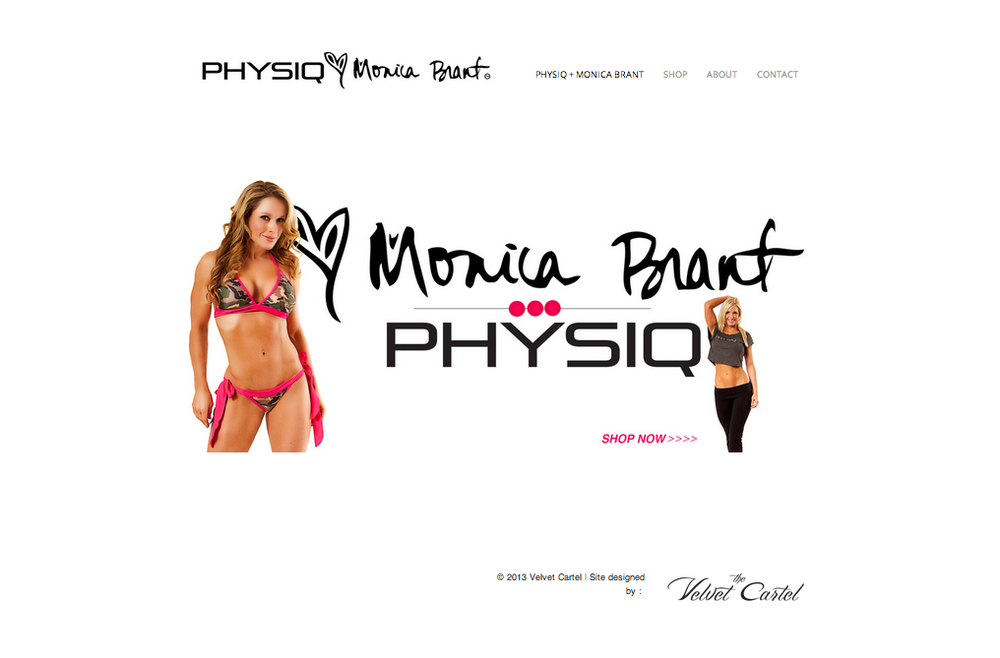 The Velvet Cartel // PHYSIQ Fitness Fashion & Monica Brant Website