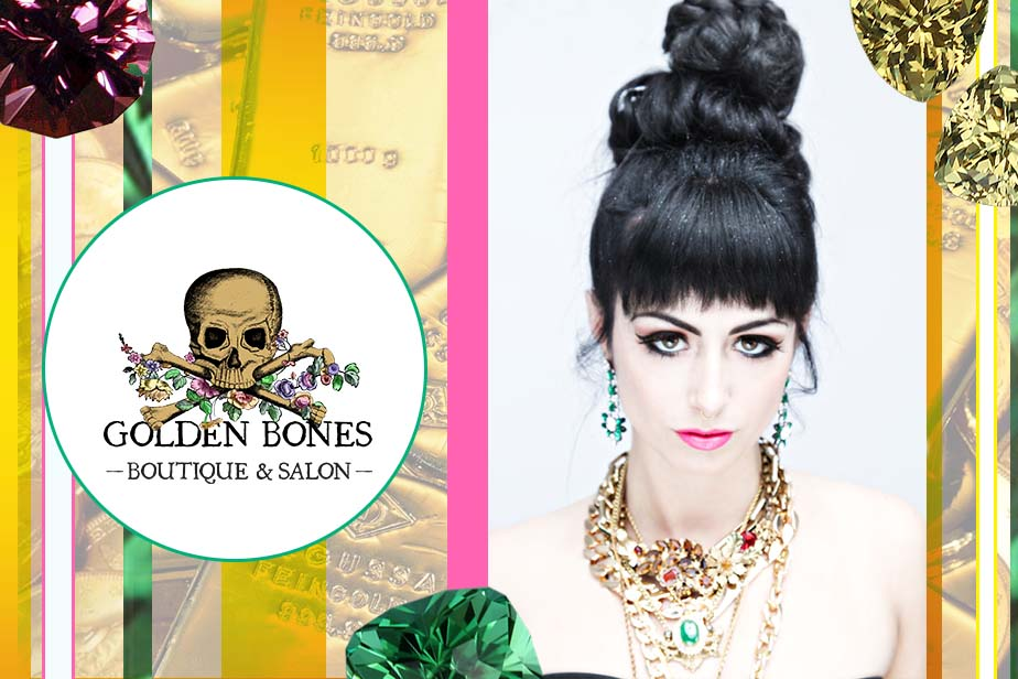 The Velvet Cartel // Golden Bones Boutique - Web Banner
