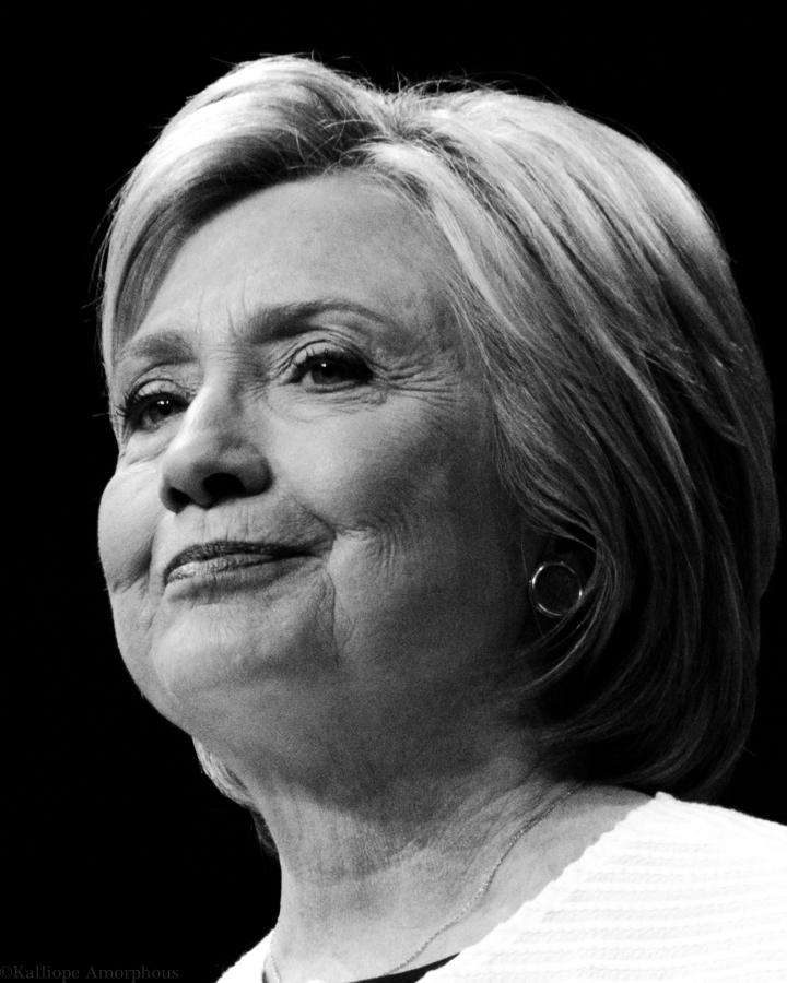 Hillary Clinton Portrait 7