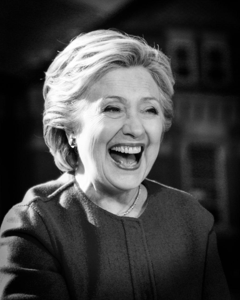 Hillary Clinton Portrait 10
