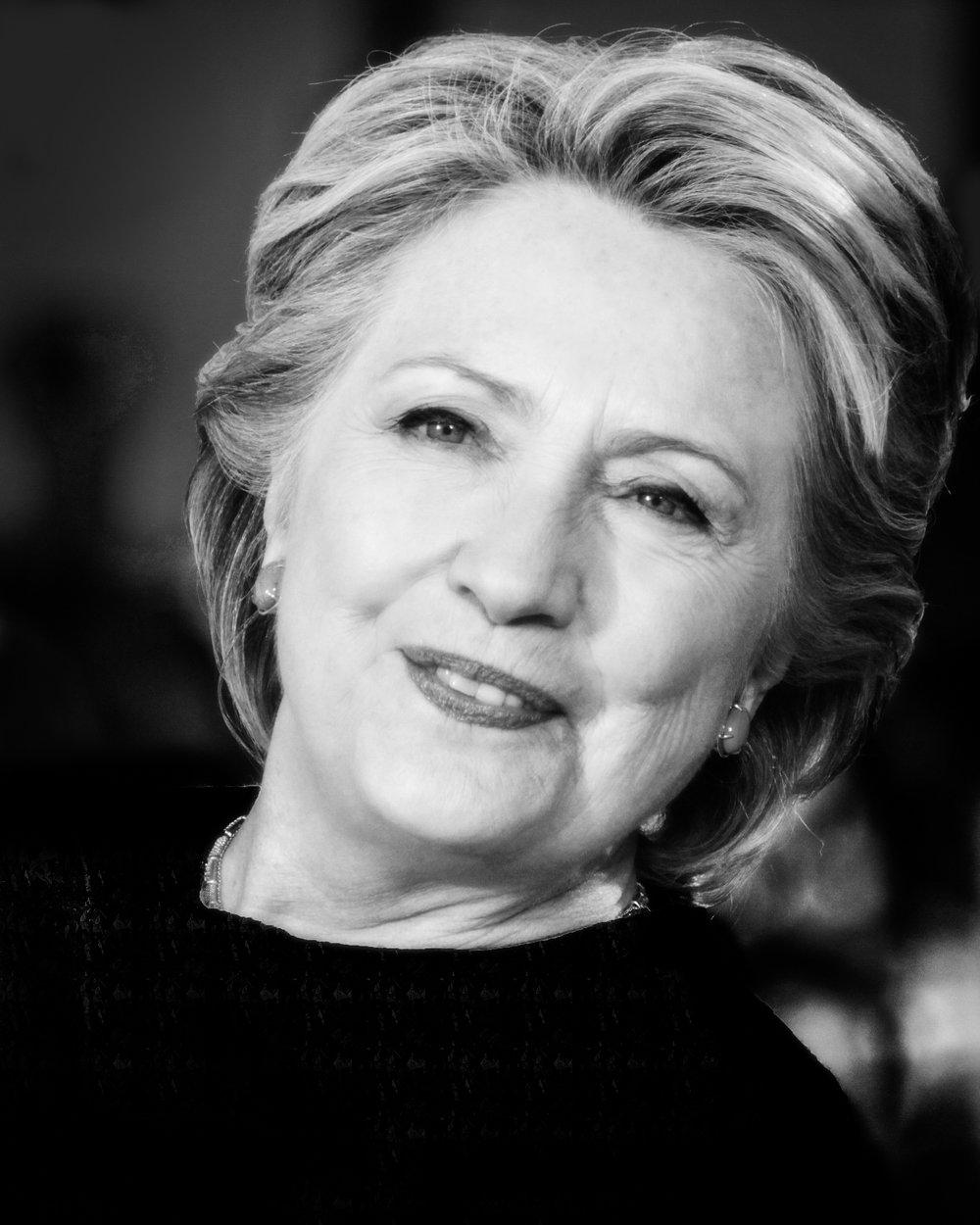 Hillary Clinton Portrait 20