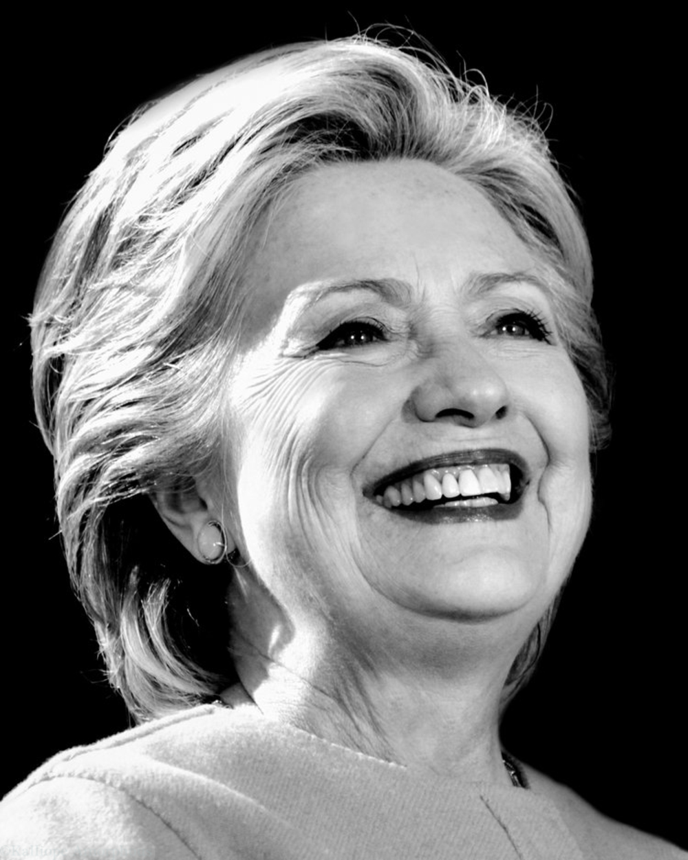 Hillary Clinton Portrait 2