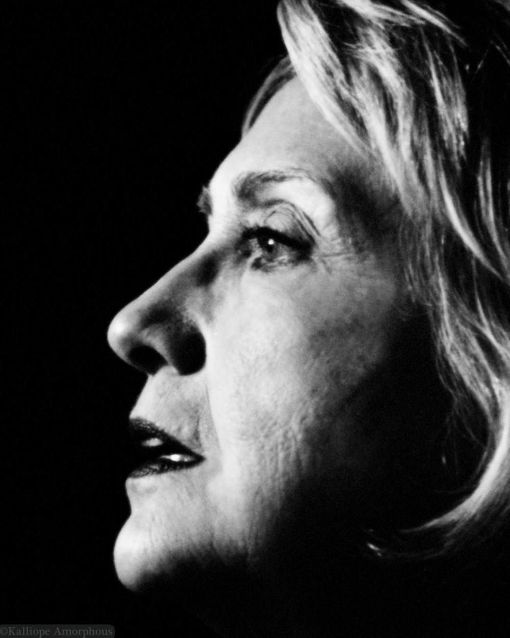 Hillary Clinton Portrait 3