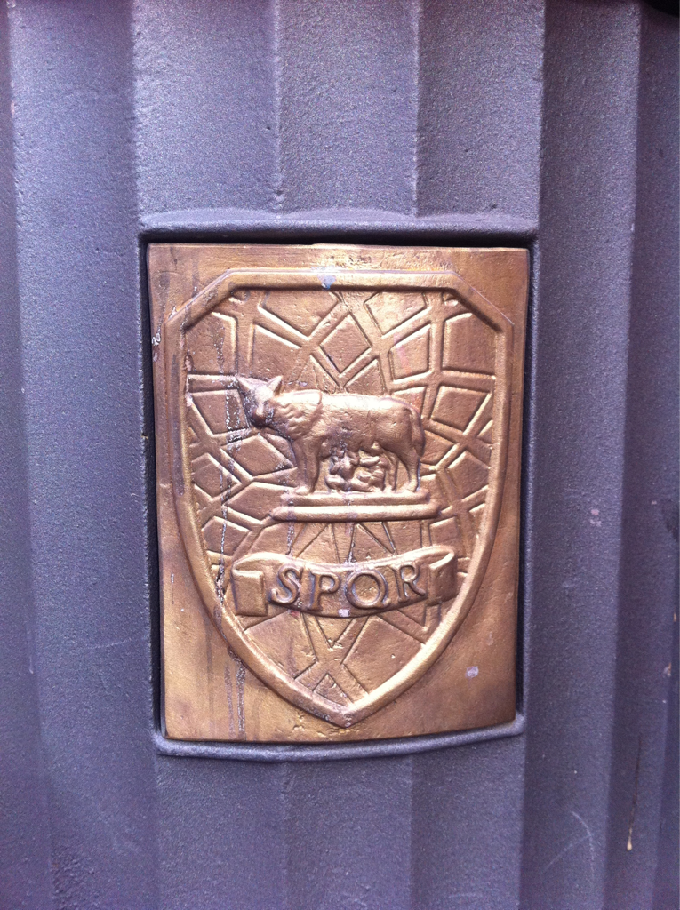 City badging. Lovely. All the roads…