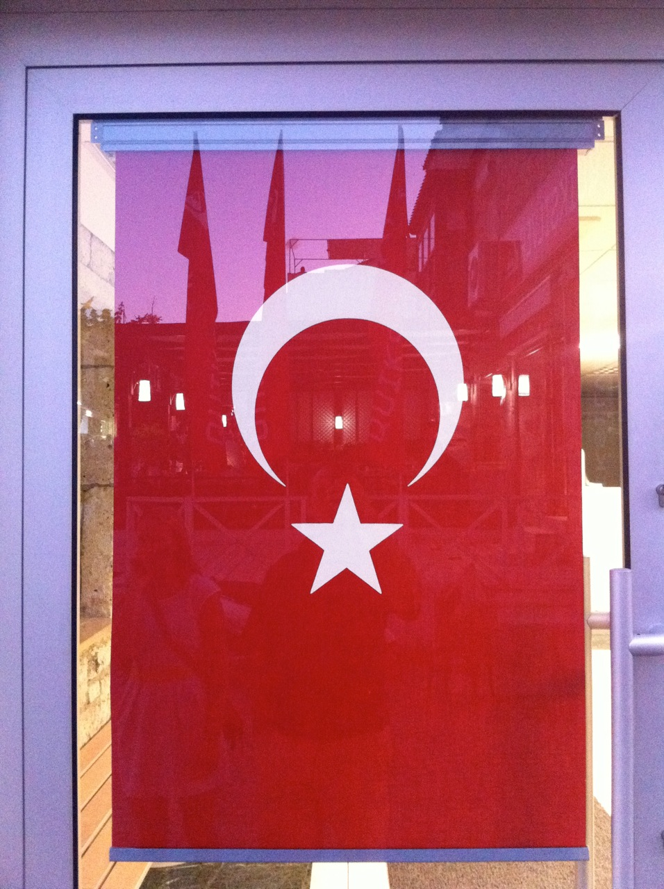 Turkish national flag is a design delight - crisp, clear, single-minded, and distinctly visible, everywhere. An effective carrier of visual identity.