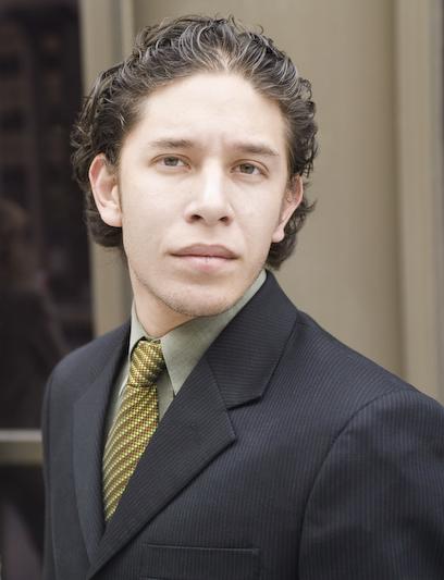 Young Businessman Headshot