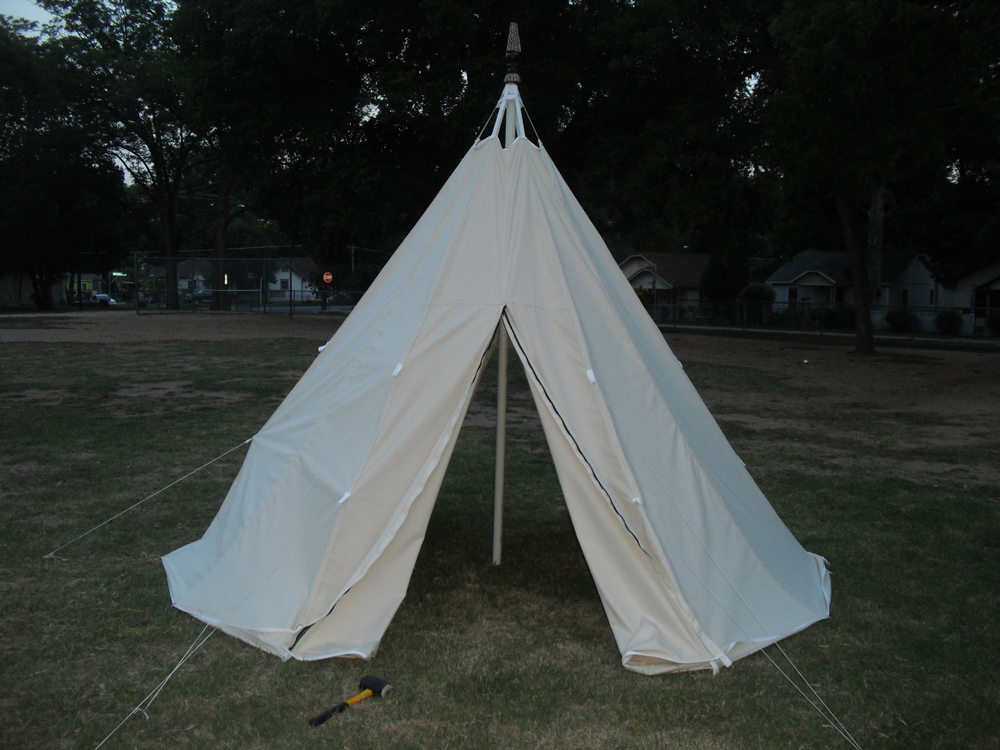8' Tee-Pee prototype version 1