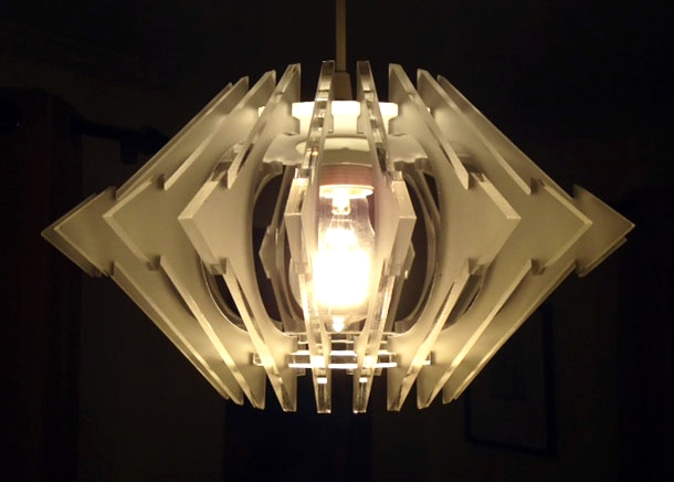 Acrylic Luminaire